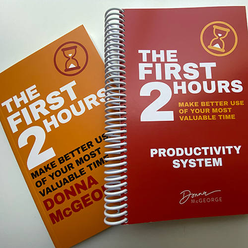 First 2 Hours Book and Productivity System